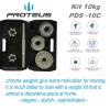 kit de 10kg proteus descricao